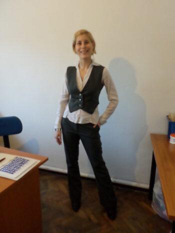 mellény-nadrág párosítás